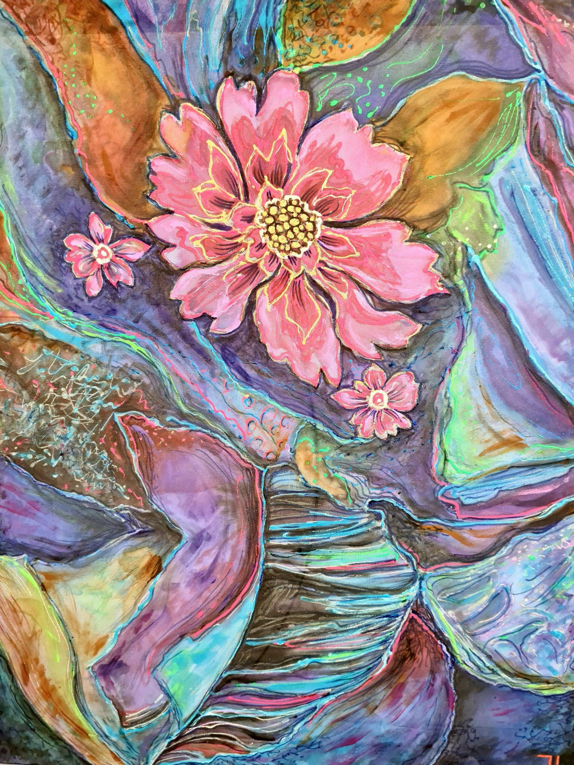 Копринени цветя
